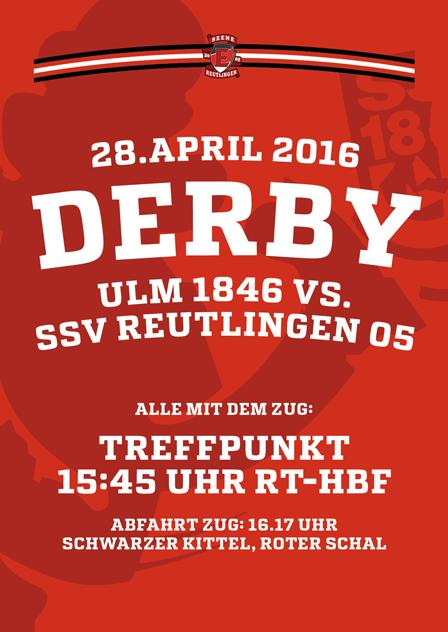 Ulm 1846 – SSV Reutlingen, 28.4.2016, 19 Uhr.